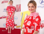 Judy Greer In Peter Pilotto - 'Ant-Man And The Wasp' LA Premiere