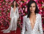 Kerry Washington In Atelier Versace - 2018 Tony Awards