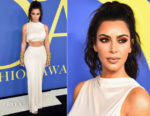 Kim Kardashian In Rick Owens - 2018 CFDA Fashion Awards