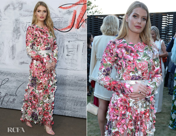 Lady Kitty Spencer In Dolce & Gabbana - Serpentine Summer Party 2018