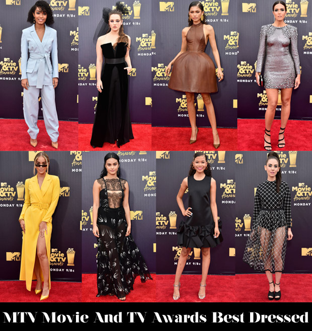 Who Was Your Best Dressed At The 2018 MTV Movie And TV Awards?
