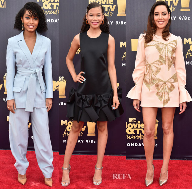 2018 MTV Movie And TV Awards Red Carpet Roundup