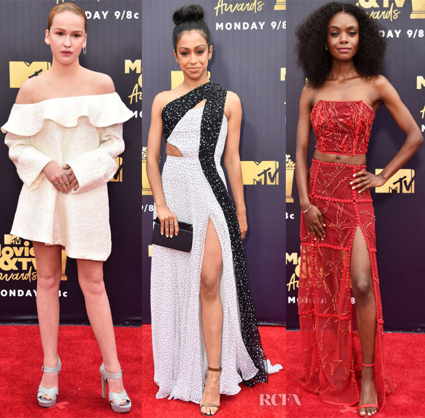2018 Mtv Movie And Tv Awards Red Carpet Roundup Red Carpet Fashion