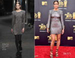 Mandy Moore In Alberta Ferretti - 2018 MTV Movie And TV Awards