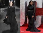 Mindy Kaling In Alberta Ferretti - 'Ocean's 8' London Premiere
