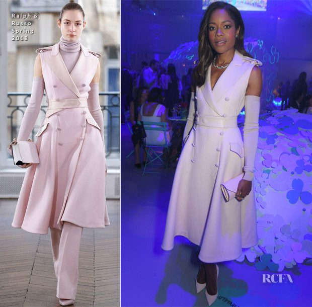 Naomie Harris In Ralph & Russo - Tiffany & Co. Celebrates The Launch Of Tiffany Paper