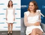 Natalie Portman In Givenchy - SiriusXM