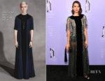 Nina Dobrev In Christian Dior - 2018 Fragrance Foundation Awards