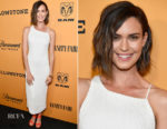 Odette Annable In Josie Natori - 'Yellowstone' LA Premiere