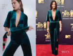 Olivia Munn In Galvan - 2018 MTV Movie And TV Awards