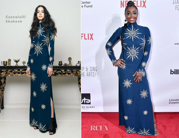 Patina Miller In Cucculelli Shaheen - Stand Up & Sing for the Arts