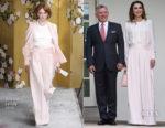 Queen Rania of Jordan In ADEAM - White House Visit