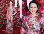 Rachel Brosnahan In Dolce & Gabbana - 2018 Tony Awards