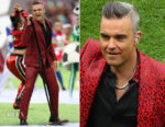 Robbie Williams In Givenchy - FIFA World Cup Opening Ceremony