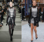 Rosie Huntington-Whiteley In Alexander Wang - Alexander Wang Resort 2019 Show
