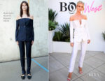 Rosie Huntington-Whiteley In Gabriela Hearst -  Inaugural BoF West Summit