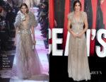 Sandra Bullock In Elie Saab Haute Couture - 'Ocean's 8' World Premiere