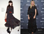 Sienna Miller In Sonia Rykiel - International Medical Corps Summer Cocktail