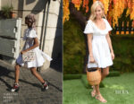 Sienna Miller In Valentino - 11th Annual Veuve Clicquot Polo Classic