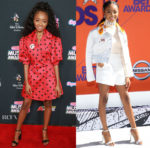 Skai Jackson In Marianna Senchina & Emilio Pucci - 2018 Radio Disney Music Awards & 2018 BET Awards