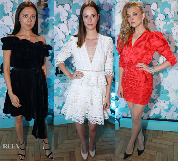 Tiffany & Co. Celebrates The Launch Of Tiffany Paper Red Carpet Roundup