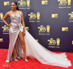 Tiffany Haddish In Galia Lahav Bridal - 2018 MTV Movie And TV Awards