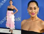 Tracee Ellis Ross In Carolina Herrera - 2018 CFDA Fashion Awards