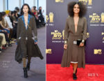 Zazie Beetz In Chloe - 2018 MTV Movie And TV Awards