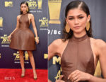 Zendaya Coleman In August Getty Atelier - 2018 MTV Movie And TV Awards