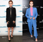Zoey Deutch In Victoria, Victoria Beckham & Delpozo - SiriusXM & 'The Year of Spectacular Men' New York Screening