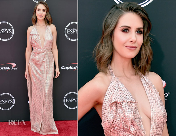 Alison Brie In Vivienne Westwood Couture - 2018 ESPYS