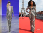 Angela Bassett In Naeem Khan - 'Mission: Impossible - Fallout' Paris Premiere