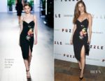 Barbara Palvin In Cushnie Et Ochs -  'Puzzle' New York Screening