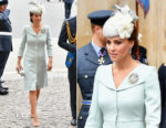 Catherine, Duchess of Cambridge In Alexander McQueen - RAF Centenary