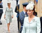 Catherine, Duchess of Cambridge In Alexander McQueen - RAF Centenary
