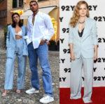 Celebrities Love...Baby Blue Suits