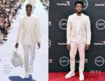 Chadwick Boseman In Louis Vuitton - 2018 ESPYS