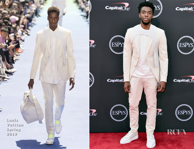 Chadwick Boseman In Louis Vuitton - 2018 ESPYS