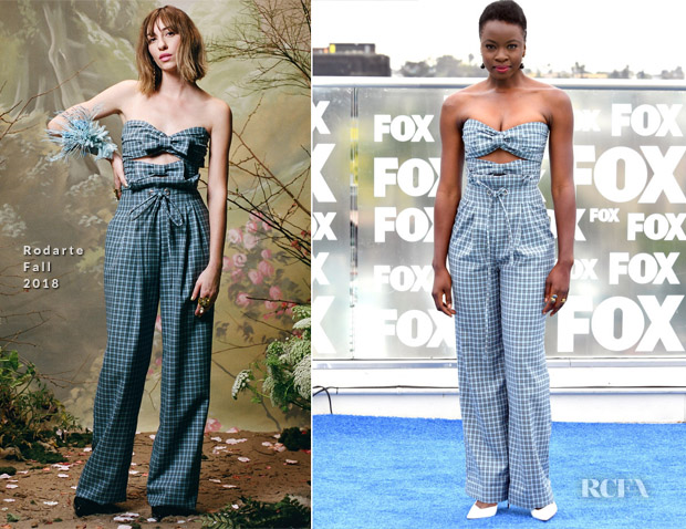 Danai Gurira In Rodarte - Comic-Con 2018: 'The Walking Dead' Photocall