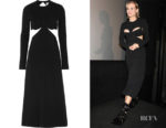 Diane Kruger's Dion Lee Cut-Out Midi Dress