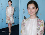 Emily Robinson In Giambattista Valli - 'Eighth Grade' LA Screening