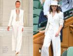 Emma Watson In Ralph Lauren - Wimbledon Championships