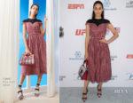 Emmy Rossum In Fendi - 4th Annual Sports Humanitarian Awards