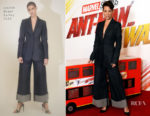 Evangeline Lilly  In Martin Grant - 'Ant-Man And The Wasp' London Photocall