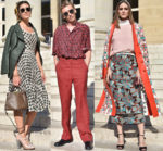 Front Row @ Fendi Fall 2018 Haute Couture