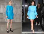 Gemma Arterton In Emilia Wickstead - Chris Evans Breakfast Show