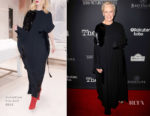 Glenn Close In Valentino - 'The Wife' LA Premiere
