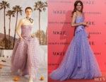 Goya Toledo In Carolina Herrera - Vogue España 30th Anniversary Party
