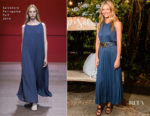 Gwyneth Paltrow In Salvatore Ferragamo - Saks Fifth Avenue host Summer Soiree at goop Sag Harbor