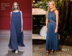 Gwyneth Paltrow In Salvatore Ferragamo - Saks Fifth Avenue host Summer Soiree at goop Sag Harbor